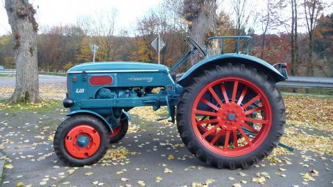 Oldtimer tractoren hanomag